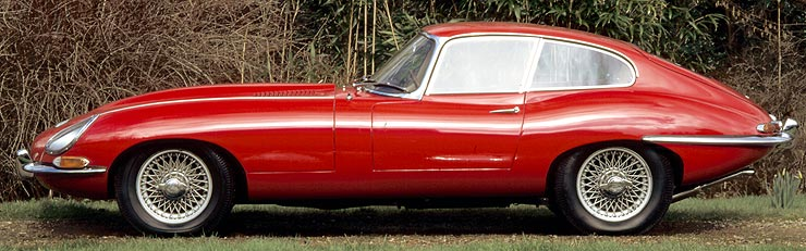 E-Type Series 1 and 2 (1961-1970)
