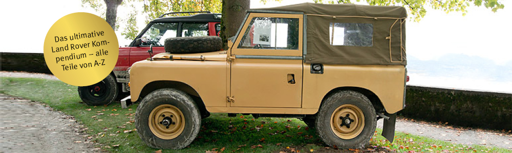 Land Rover Series II, IIA and III (1958-1985)