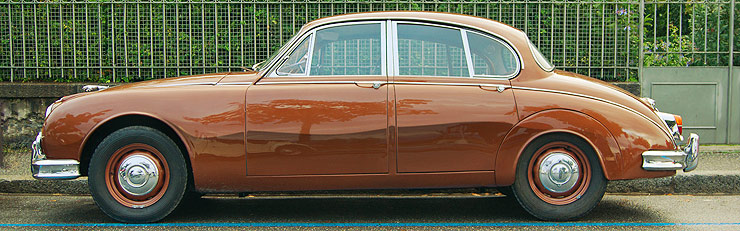 Jaguar Mark II und Daimler V8 (1959-1969)