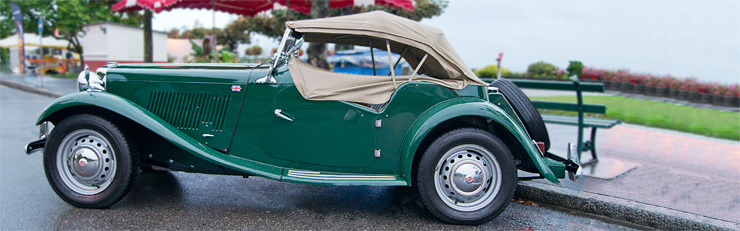 MG T-Type: TA, TB, TC, TD and TF (1936-1955)