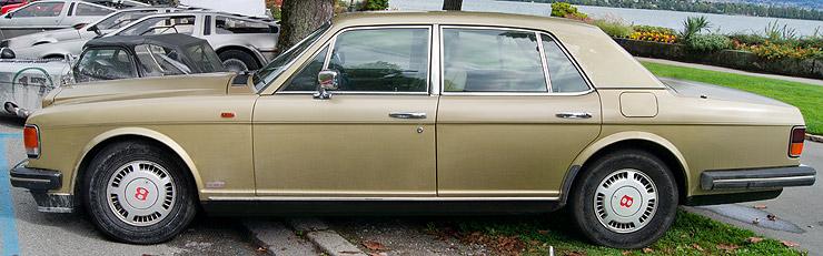 Rolls Royce Silver Spirit (1980-98) and Bentley Mulsanne (1980-92)