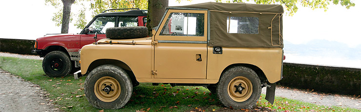 Land Rover Serie II, IIA and III (1958-1985)