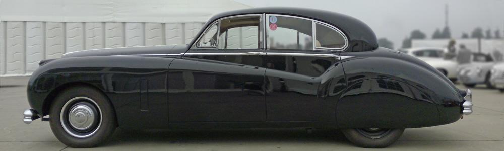 Jaguar Mk7, Mk8 and Mk9 (1950-1961)