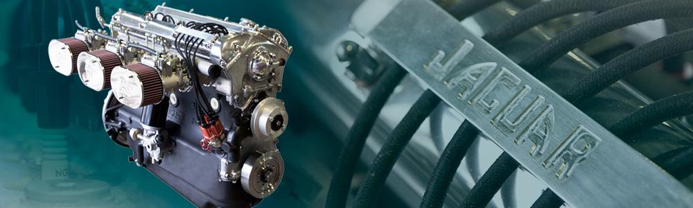 The Jaguar XK engine