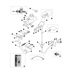 Clutch hydraulics - 4 cylinder cars