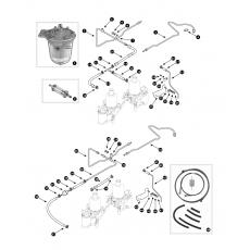 Fuel lines - SU-HS4 carburettors