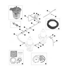 Fuel lines - SU-HIF4 and HIF6 carburettors
