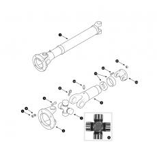 Propshaft - 4 cylinder cars