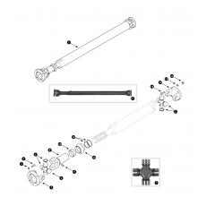 Propshaft - MGB V8
