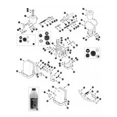 Brake hydraulics - single line system