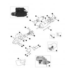 Starter motor - MGB V8