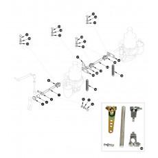 SU-HD6 carburettor linkage - XK150