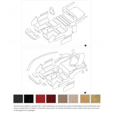 Complete interior trim kits