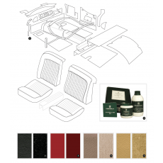 Complete interior trim kit - XK120 OTS