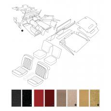 Complete interior trim kit - XK150 FHC