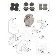 Front brakes - XK150