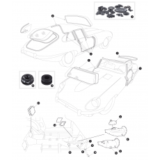 Complete seal kits, grommets and blanking plugs