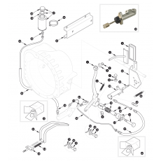 Clutch hydraulics - XK150