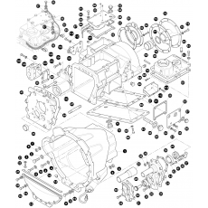Gearbox, outer- 109 V8