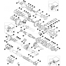 Gearbox, inner - Serie II and Serie IIA