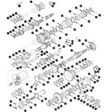 Gearbox, inner - Serie III