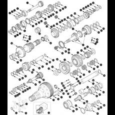 Gearbox, inner - 109er V8