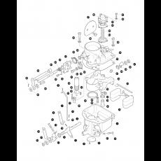 Zenith 36 IV internal carburettor - 2.25 petrol engine, Serie IIA and Serie III