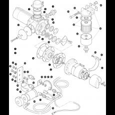 Fuel pump  - 6 cylinder engine