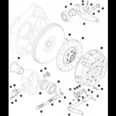 Clutch 2.6 lirer 6-cylinder