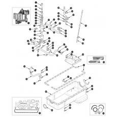 Oil sump - 2.8 engine