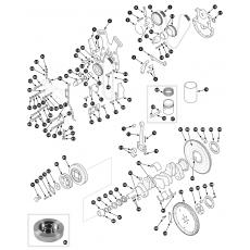 Crankshaft - 2.8 engine