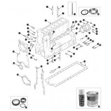 Cylinder block - 2.8 engine