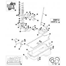 Oil sump - 4.2 engine