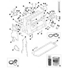 Cylinder block - 4.2 engine