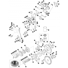 Crankshaft - 3.4 engine