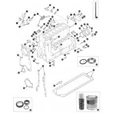 Cylinder block - 3.4 engine
