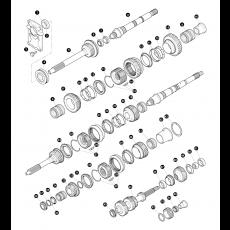 5 speed R380 manual transmission - inner