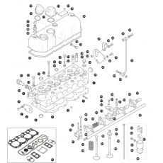 Cylinder head - 2.25 litre 4 cylinder petrol engine