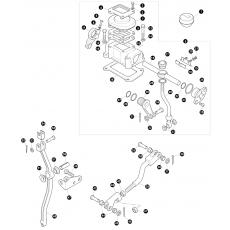 Transfer box LT230 - rod assembly for LT77 with pivot