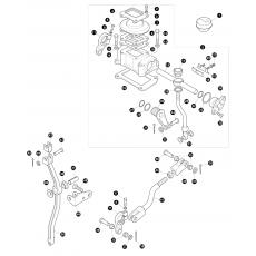 Transfer box LT230 - rod assembly for 13D