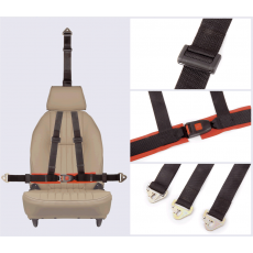 Securon - 3 point full harnesses with modern buckle