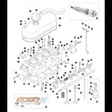 Cylinder head - 2.25 litre 4 cylinder diesel engine