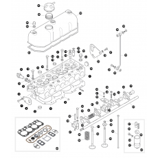 Cylinder head - 2.5 litre 4 cylinder petrol engine