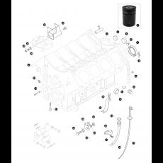 Cylinder block - 3.5 litre 8 cylinder petrol engine