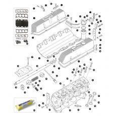 Cylinder head - 3.5 litre 8 cylinder petrol engine