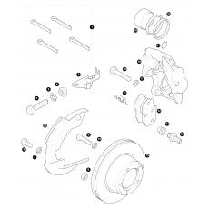 Front brakes - disc brakes