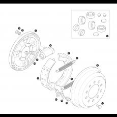 Rear brakes - drum brakes