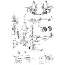 SU-H1 Carburettors - Sprite I (1958-61)