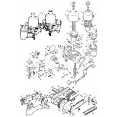 SU-HS4 Carburettors - Midget 1500 European models (1974-79)