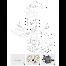 Carburettor 32/34 DMTL Weber - 2.25 litre 4 cylinder petrol engine